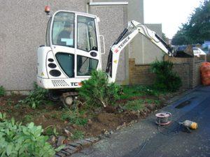 driveway installation groundworks
